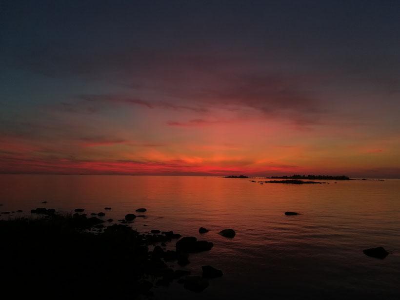 Toller Sonnenuntergang...