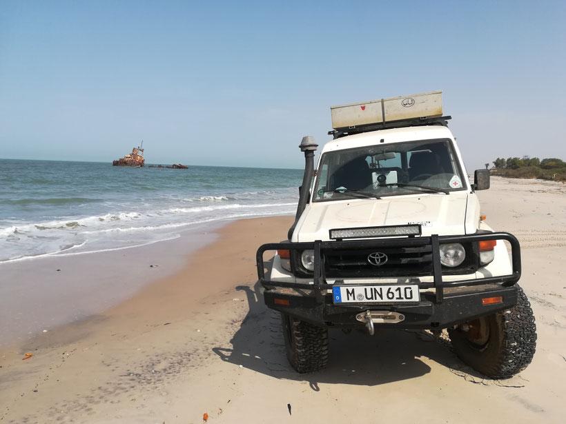 Am Strand von Palmarin