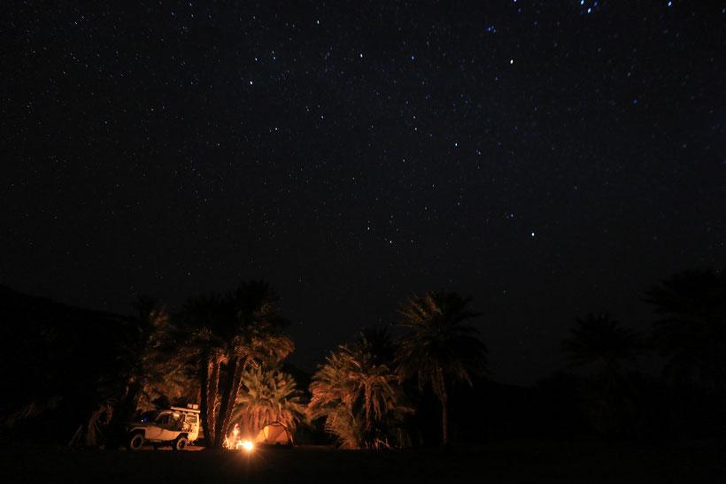 Unser Schlafplatz im Guelta