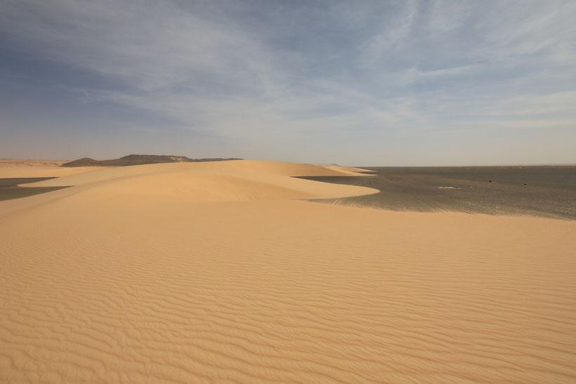Wunderschöne Dünen kurz hinter Tichit