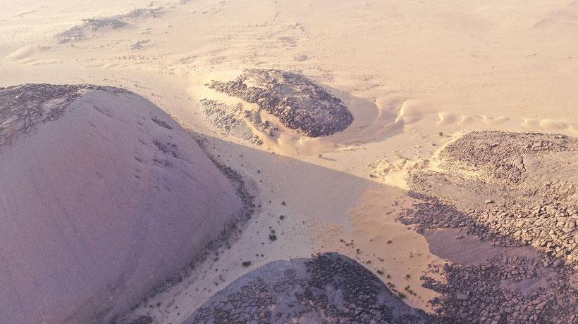 Die Nordostseite des Ben Aisha