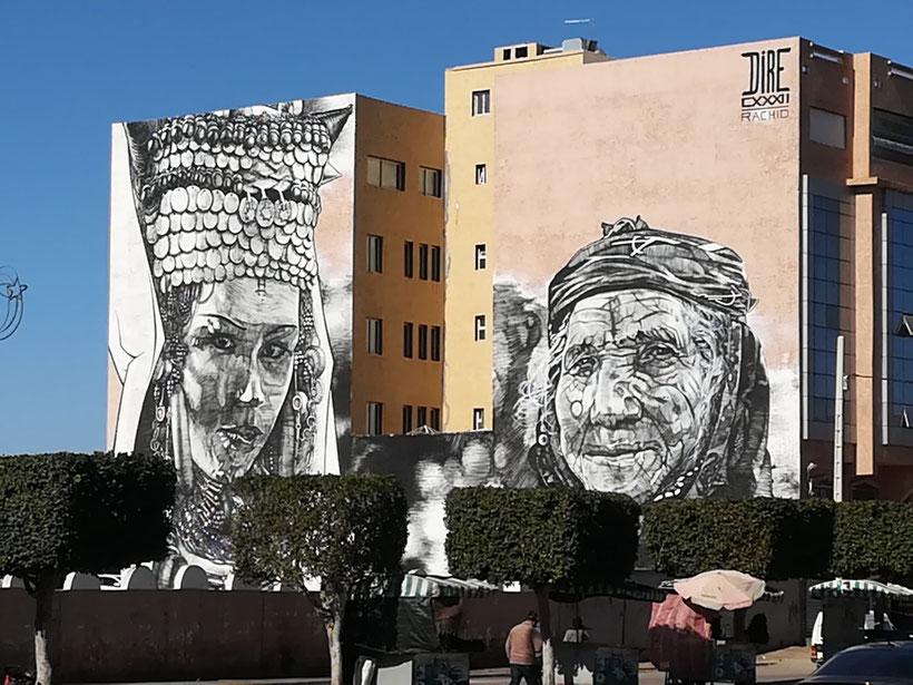 Graffitis in Guelmim