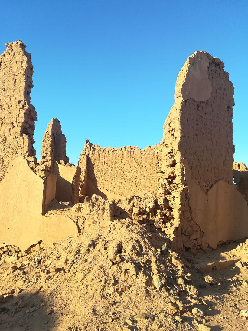 Das alte verfallene Fort