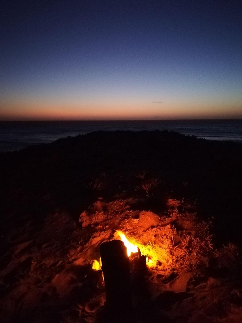 Unsere letzte Nacht in der Westsahara