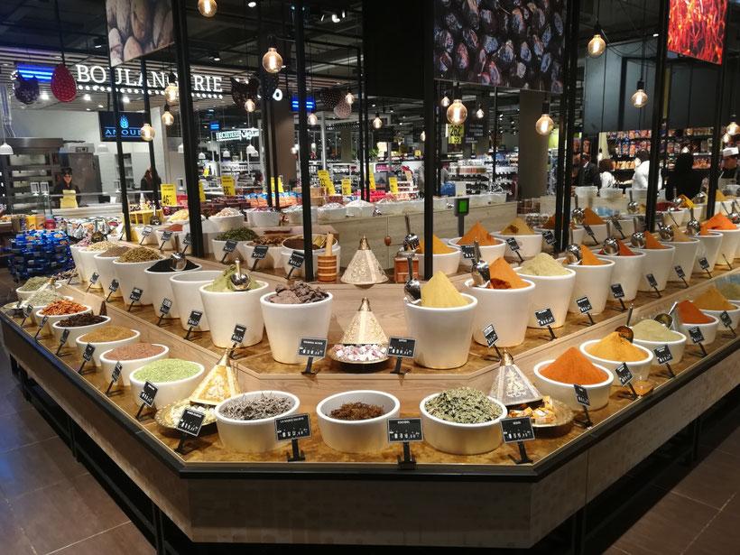 Paradiesisch einkaufen - der Carrefour Market Gourmet in Rabat