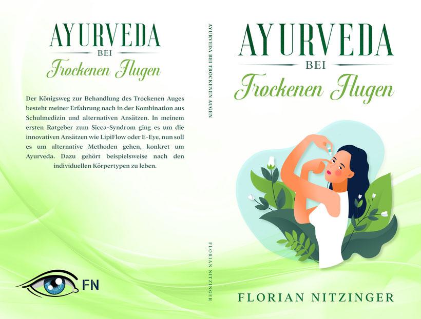 Ayurveda bei Trockenen Augen von Florian Nitzinger (Cover)
