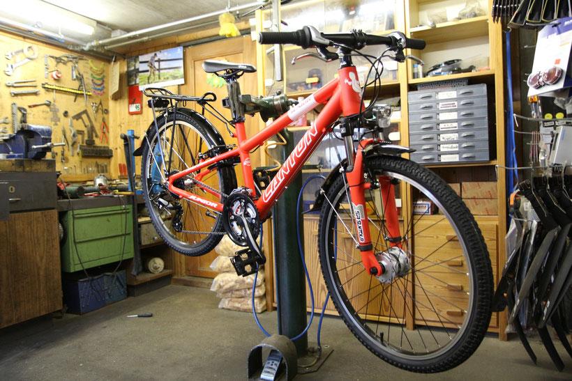 Neue Bikes, der Marke Canyon