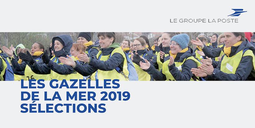 Les Gazelles de la mer sélections 2019, LE GROUPE LA POSTE