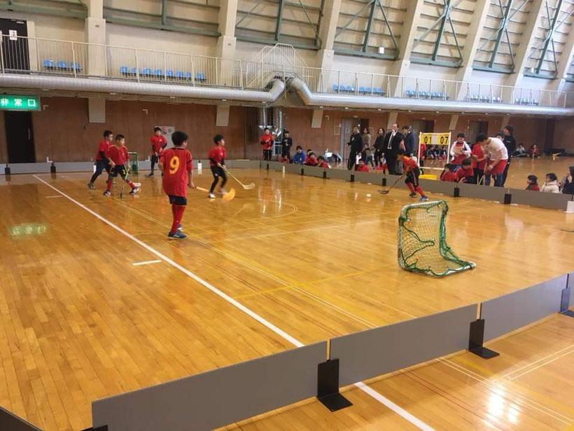 20181216第3回フロアボールJCカップ