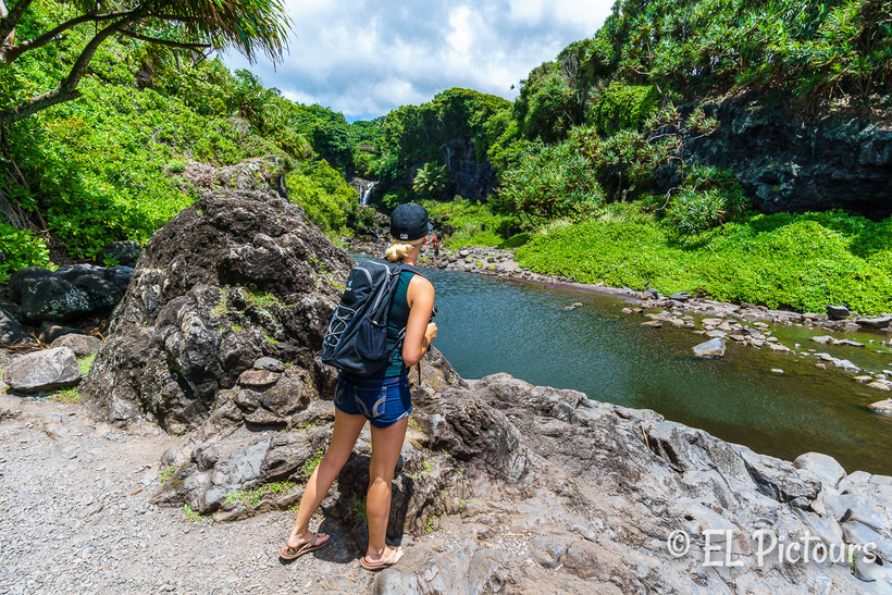 Oheo Gulch, Road to Hana, Maui, Hawaii