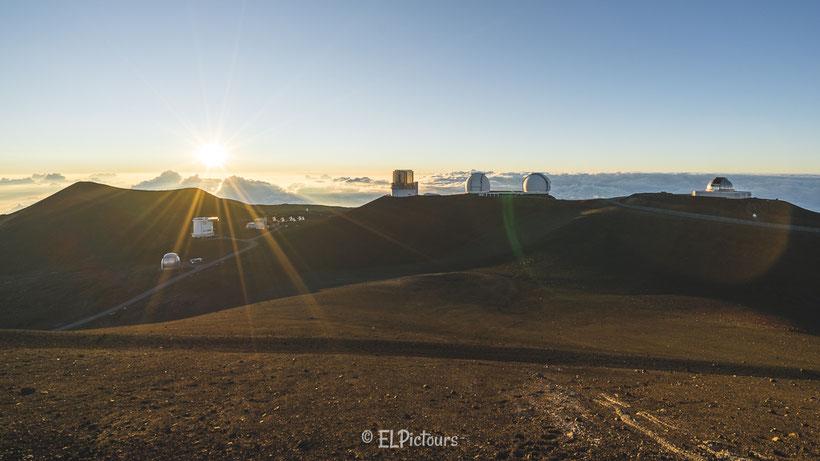 Observatorien, Mauna Kea, Big Island, Hawaii