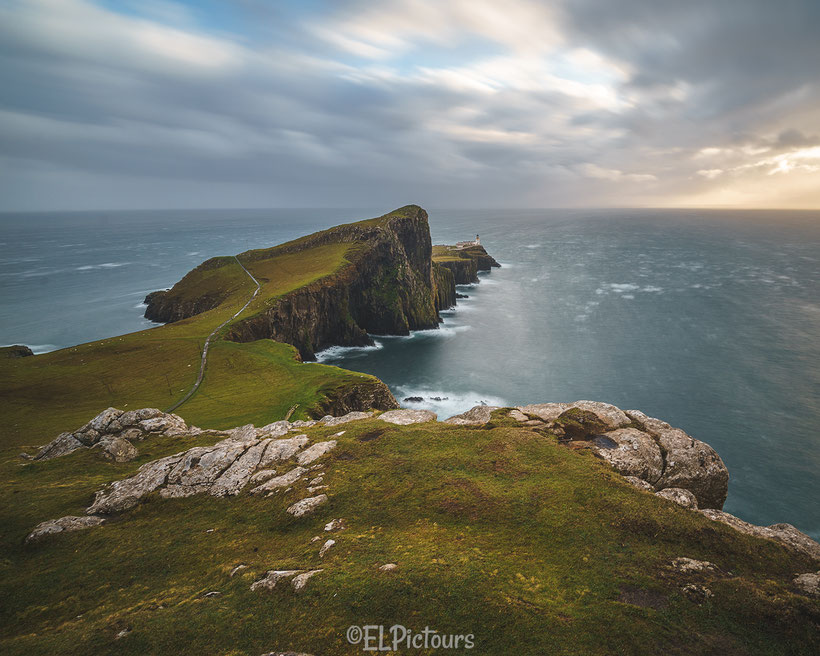 Neist Point, Lighthouse, Isle of Skye, Schottland