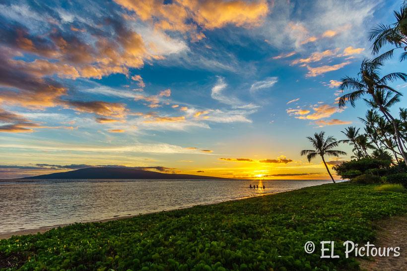 Sonnenuntergang Baby Beach, Lahaina, Maui