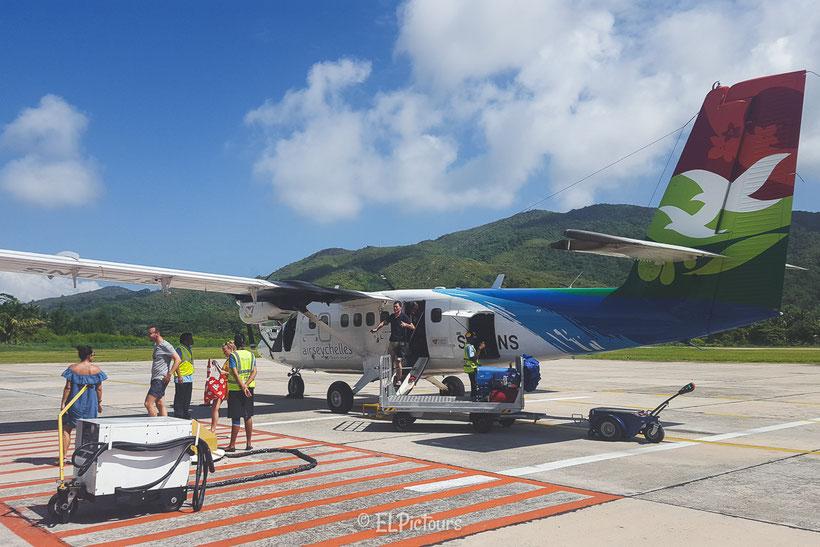 La Digue, Seychellen, Air Seychelles
