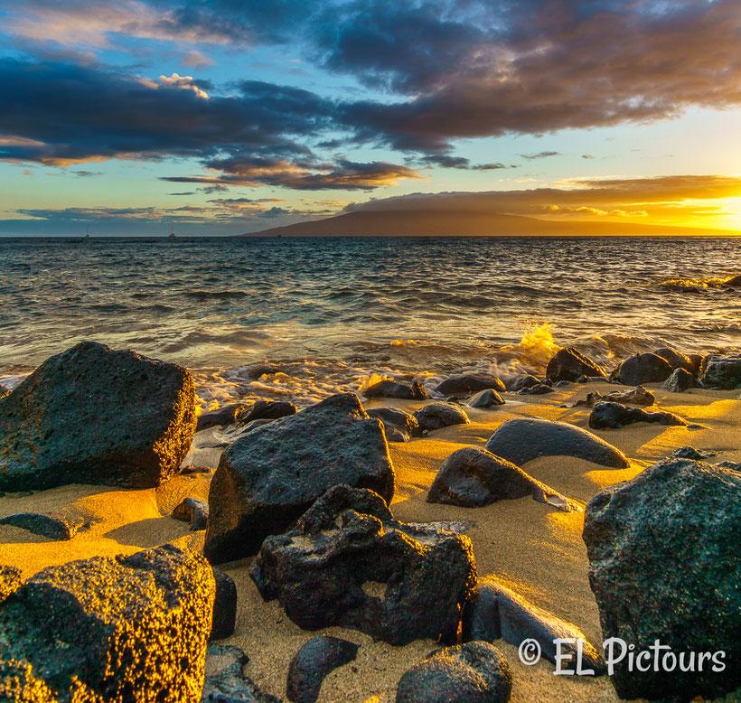 Sonnenuntergang Lahaina, Maui, Hawaii