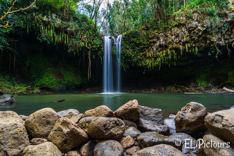 Twin Falls Road to Hana, Maui, Hawaii