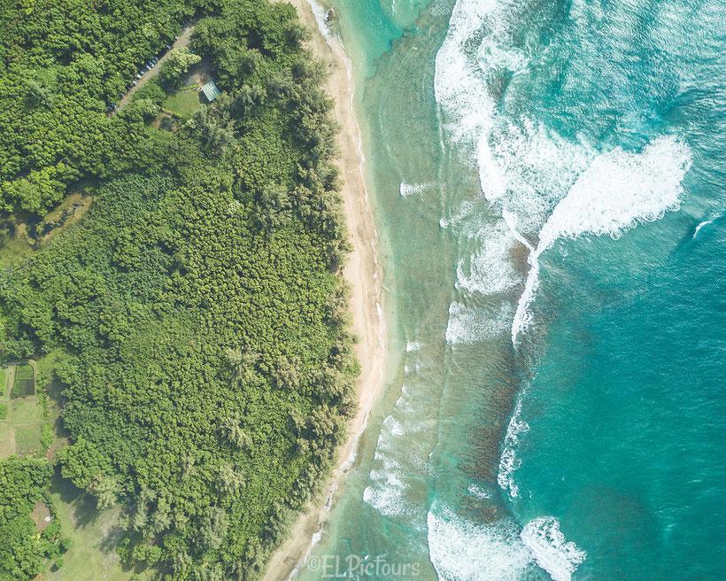 Ke'e Beach, Kaua'i, Hawai'i