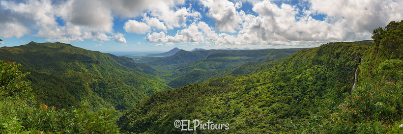 Gorges Viewpoint im Black River Nationalpark, Mauritius