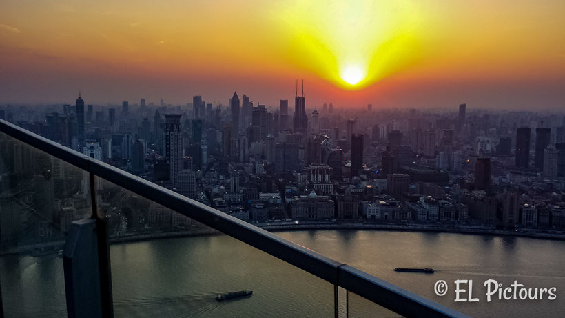RItz Carlton Pudong, Rooftop Bar, Shanghai