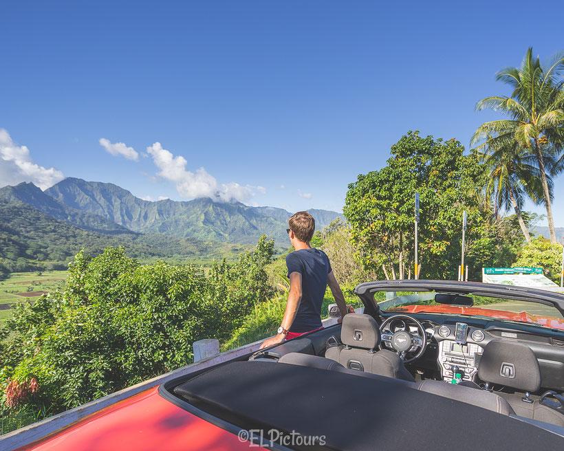 Hanalei Valley Lookout, Kaua'i, Hawai'i