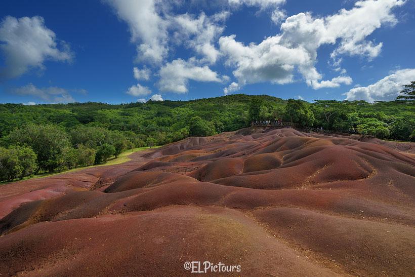 Siebenfarbige Erden, Chamarel Mauritius
