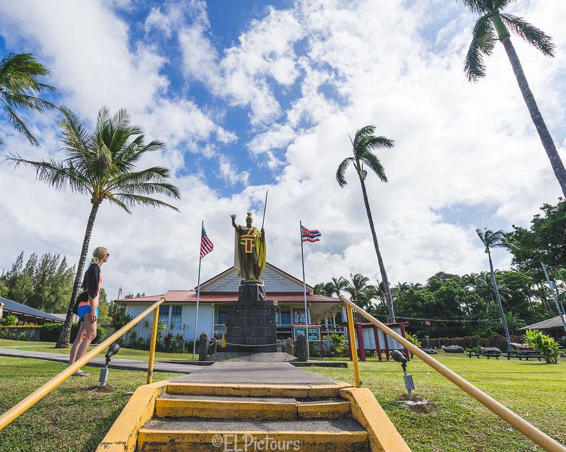 Statue of King Kamehameha, Big Island, Hawaii