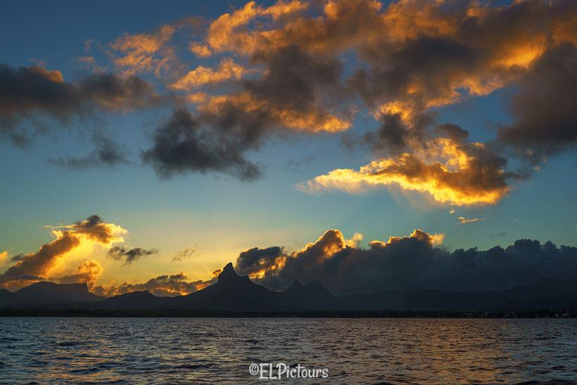 Black River, Mauritius, Sonnenaufgang