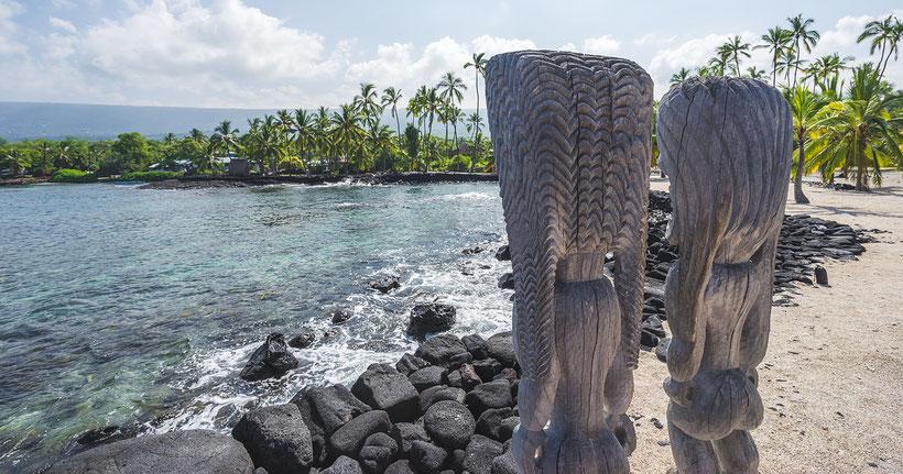 Pu'uhonua o Honauau National Historical Park, Big Island Hawaii