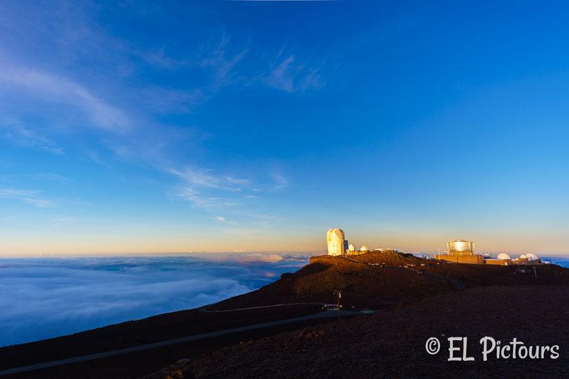 Haleakala Sternenwarte, Haleakala Nationalpark, Maui, Hawaii