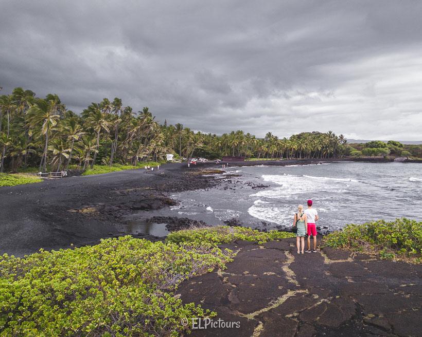 Punalu'u beach, Big Island Hawaii