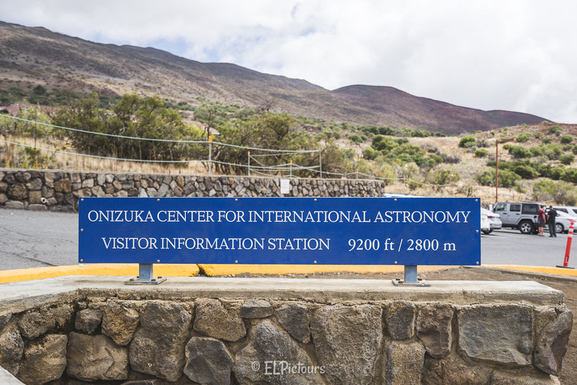 Visitor Information Station, Mauna Kea, Big Island, Hawaii