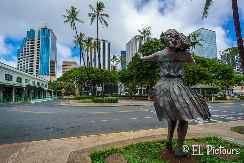 Honolulu Downtown, Oahu
