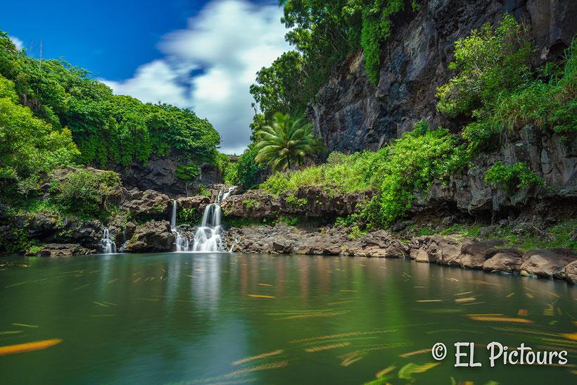 Oheo Gulch Road to Hana, Maui, Hawaii