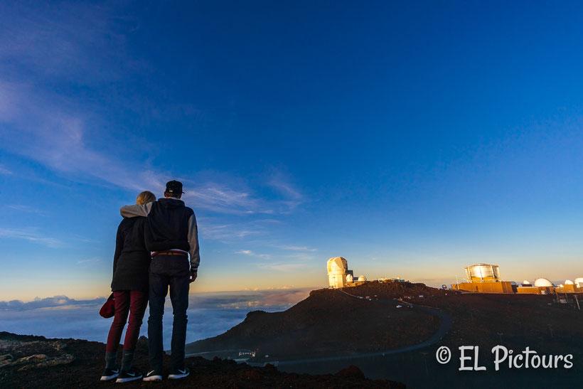 Observatory Haleakala, Haleakala Nationalpark, Maui, Hawaii
