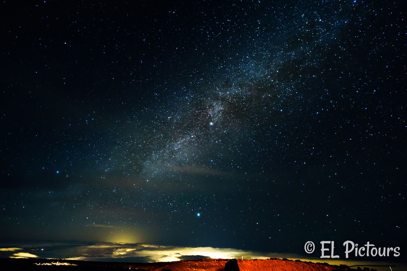 Milchstraße auf dem Haleakala, Maui, Hawaii