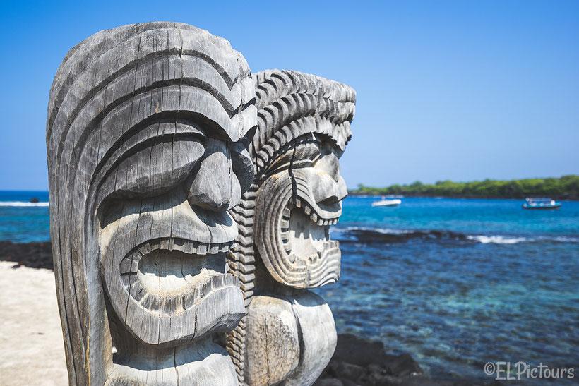 Pu'uhonua o Honauau National Historical Park, Big Island, Hawaii
