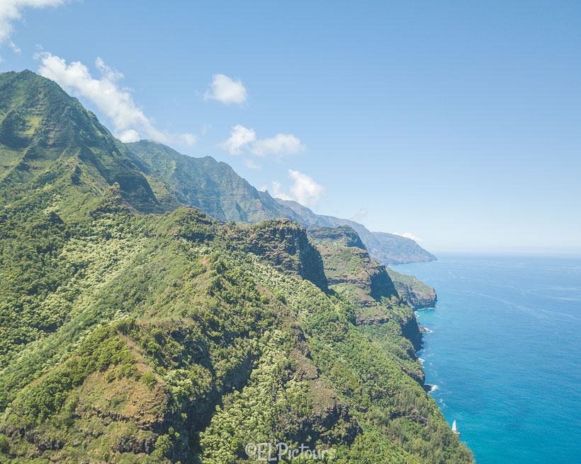 Kalalau Trail, Napali Coast, Kaua'i, Hawai'i