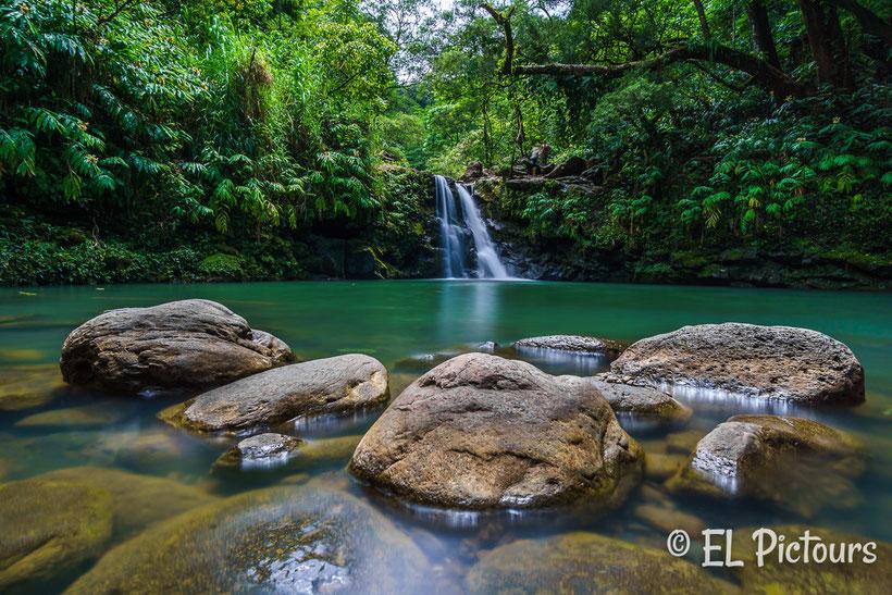 Waikamoi Fall Maui, Road to Hana, Hawaii