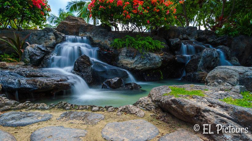 Wasserfall Waikiki, Oahu, Hawaii