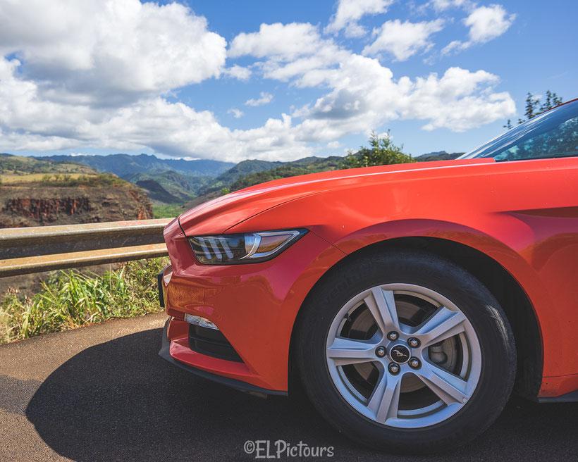 Route 550, Mustang, Kauai, Hawaii