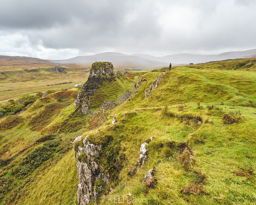 Fairy Glen, Isle of Skye, Schottland