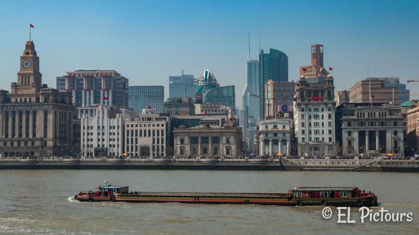 Hafenrundfahrt Huangpu, Shanghai, China