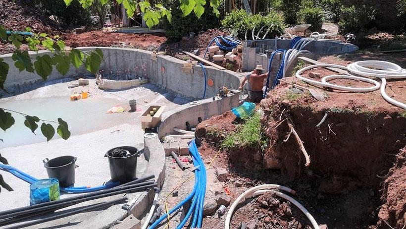 réseaux hydraulique piscine