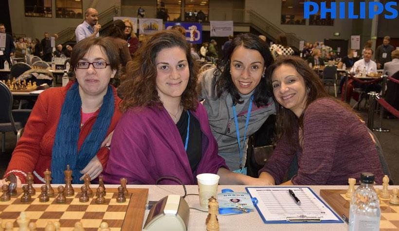 Griechische Schach-Frauen-Nationalmannschaft