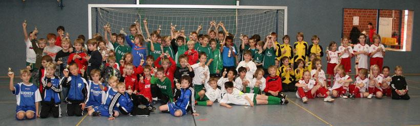 Das Teilnehmerfeld F-Jugend