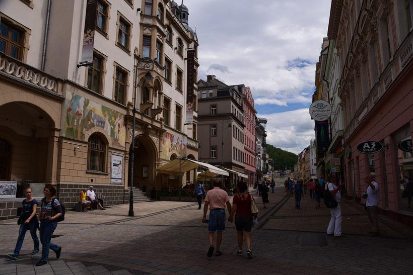Karlsbad - eine gepflegte Stadt, konnte mich aber nicht richtig begeistern. Vielleicht habe ich die echten Seheswürdigkeiten auch nur nicht gefunden.