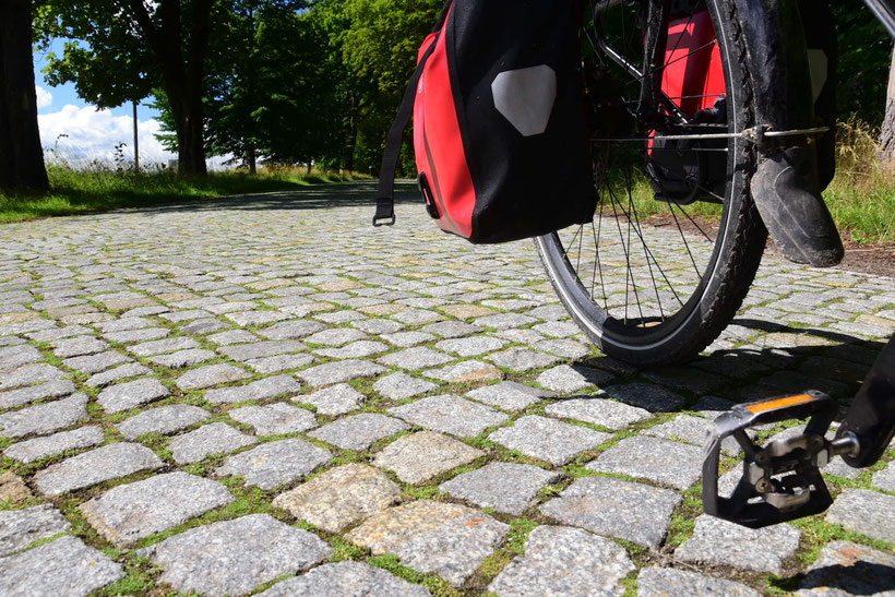 30km Kopfsteinplaster - ein Alptraum für Radler mit einem Hardtail