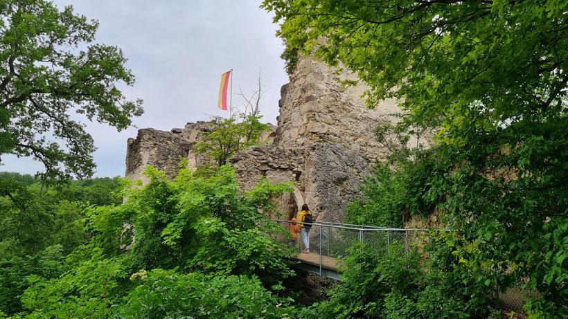 Burgruine Johannstein Sparbach