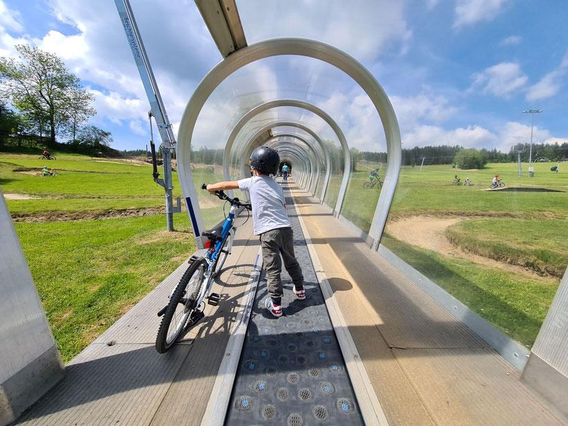 Zauberteppich Mini Bikepark