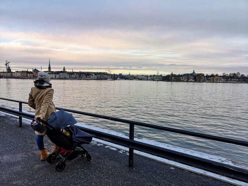 Stockholm Flugreise mit Baby